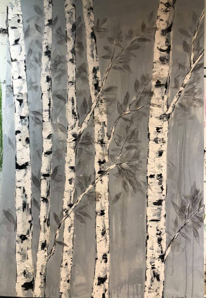 Deborah-Warken-Artwork-birch-trees